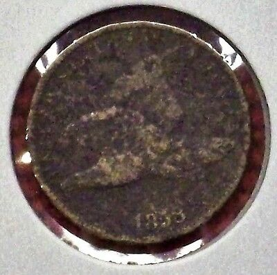1858 FLYING EAGLE CENT! small letter variety. IN AG  Condition!