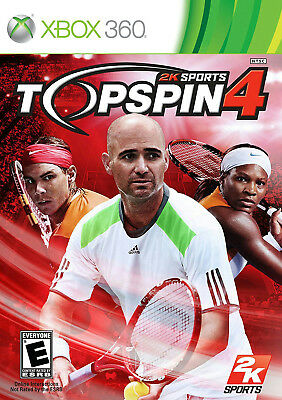 NEW Top Spin 4 - Xbox 360 Standard Edition