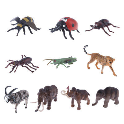 Realistic Wild Insect Animal Model Figurine Kid Science & Nature Educational Toy
