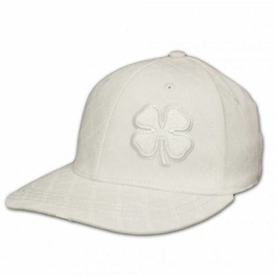 NEW Black Clover Live Lucky Chain Link White Fitted (M) Hat/Cap