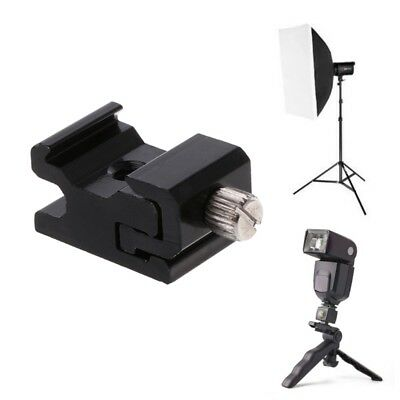 Hot Shoe Flash Bracket Stand Mount Adapter Trigger Holder Camera Accessories New