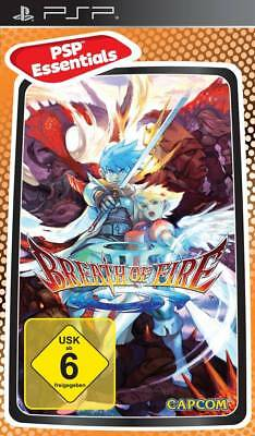 Breath of Fire III 3 Essentials (2005) Brand New Factory Sealed Europe PSP Game