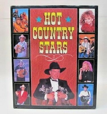 HOT COUNTRY STARS by Nichsel McCall & Janet Williams.  hardbound book