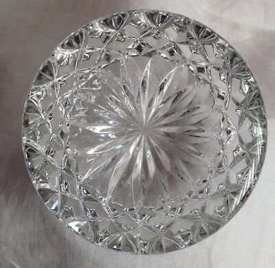 Waterford Nocturne Collection Crystal Paperweight  As New -