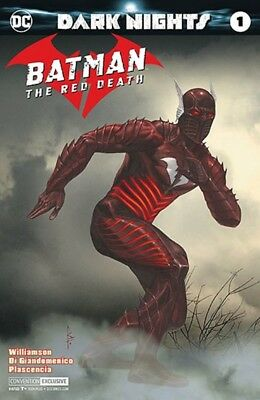 Batman The Red Death 1 Nycc Comic Con Silver Foil Convention Variant Metal 2017