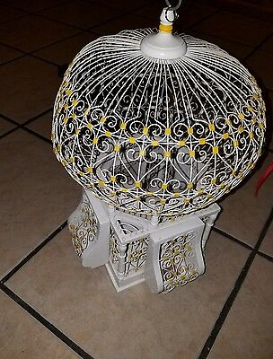Tunisian bird cages tunis wooden cage white bird house globe