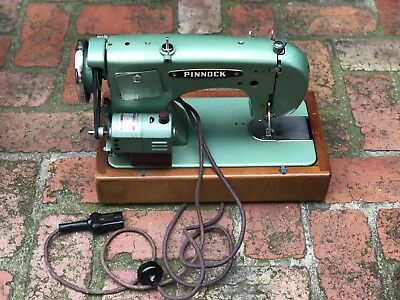 Vintage Pinnock Sewing Machine - Made In South Australia