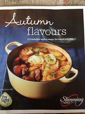 Slimming World Small Paperback Recipe Book. Autumn Flavours