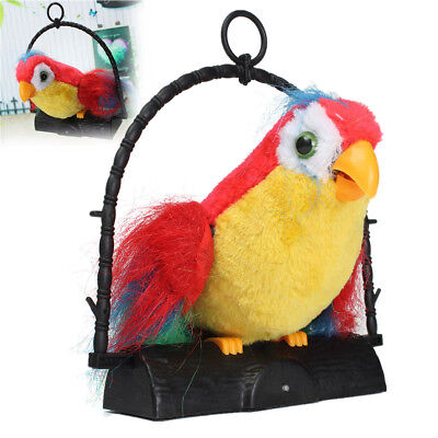 Talking Parrot Repeats What You Say Cute Toys Bird Boxed Boy Girl Kids Gift