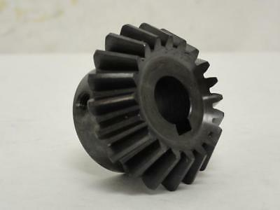 168144 New-No Box, KHK SB2-2030 Carbon Steel Bevel Gear, 20 Tooth, 20mm ID