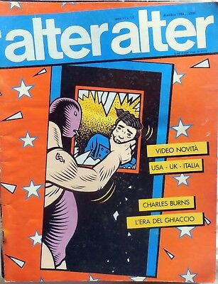 Rivista Alter Alter N.12 1984 Charles Burns