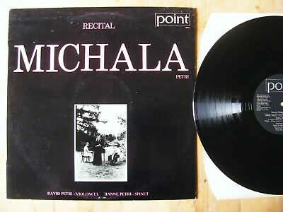 "Michala Petri ""recital"" rare danish pressing POINT"