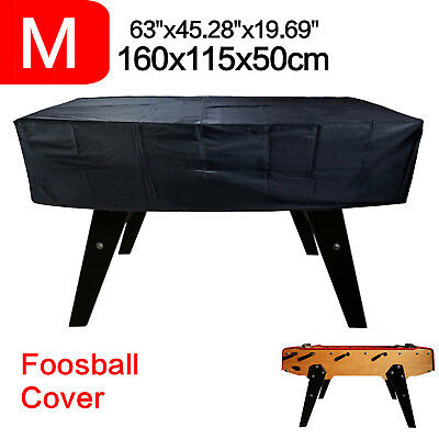 Waterproof Foosball Cover Billiard Table Cover Outdoor Dust Protect Elastic Band