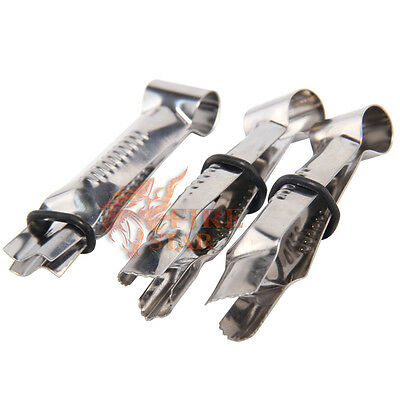 3pcs Stainless Curve Crimpers Style Lace Sides Pastry Cake Decorating Clip
