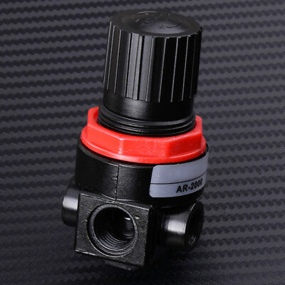 AR2000 Air Control Pressure Regulator Compressor Relief Gauge Regulating Valve