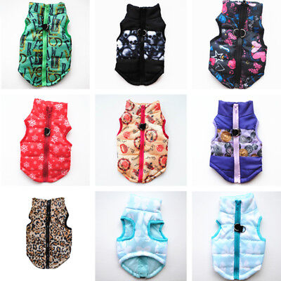 Winter Pet Dog Cat Coat Puppy Jacket Pet Supplies Clothes Apparel Costumes Cloth