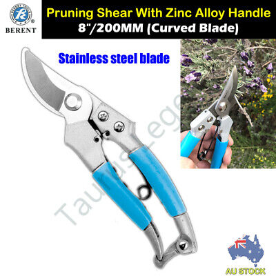 Stainless Steel Blade Zinc Alloy Body Gardening Flower Tree Pruning Shear Pruner