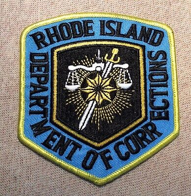 RI Rhode Island Department of Corrections Patch
