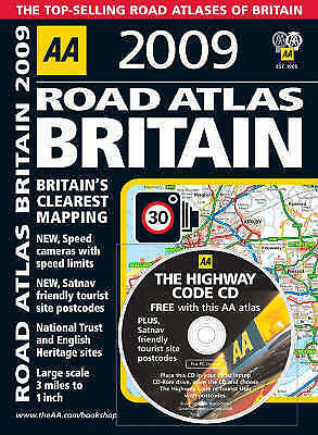 AA Road Atlas Britain (AA Atlases and Maps) (AA Atlases and Maps), AA Publishing
