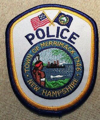 NH Merrimack New Hampshire Police Patch