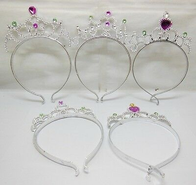 12 Princess Dress Up Tiaras Head Pieces NO Teeth Party Favo