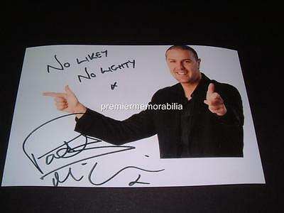 PATRICK PADDY McGUINESS SIGNED REPRINT PHOTO TAKE ME OUT HOST