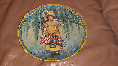 Easter Plate - Childhood Holiday Memories - Jessie Willcox Smith - Knowles
