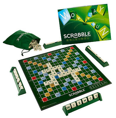 Scrabble Board Game Family Letter Classic Gift Word Puzzle New Xmas Adults Kids