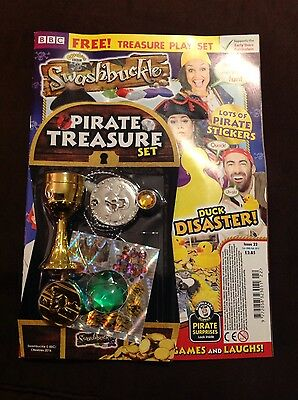 CBeebies Swashbuckle Magazine Issue 22 pirate treasure set