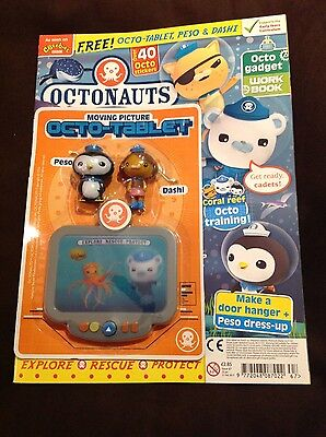 OCTONAUTS MAGAZINE #67 - FREE TOYS  Peso & Dashi And The Octo-Tablet