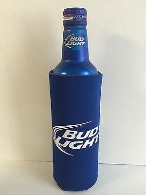 Bud Light Beer Koozie Fits 16 oz Aluminum Can Classic Logo NEW & Free Shipping