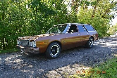 1978 Plymouth Volare 4 DOOR VOLARE WAGON 318 4SPD 1978 PLYMOUTH VOLARE WAGON 318 FACTORY 4SPD SOLID CAR NICE BROWN AND TAN