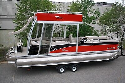 New-2785 Funship cruise pontoon boat with 150 and trailer