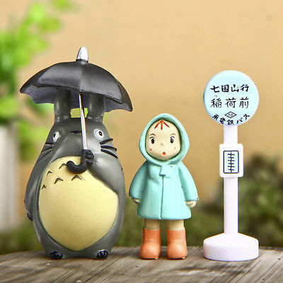 3pc/Set My Neighbor Totoro Studio Decoration Kids Toys Gift Figurine Model Doll