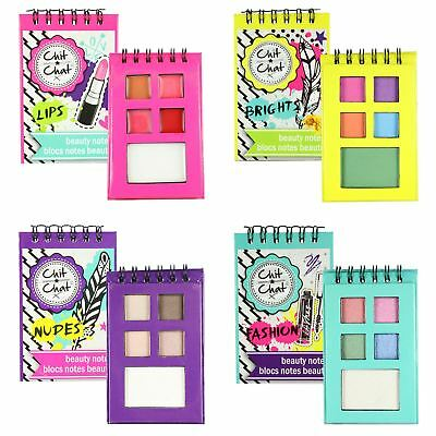 Technic Chit Chat Mini Beauty Notes Eyeshadow Lipstick Makeup Cosmetic Sets