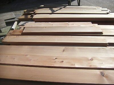Western Red Cedar Timber Slats (Excess and Off Cuts) Impregnated Euro Class B FT