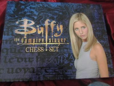 Rare- Buffy The Vampire Slayer Chess Set