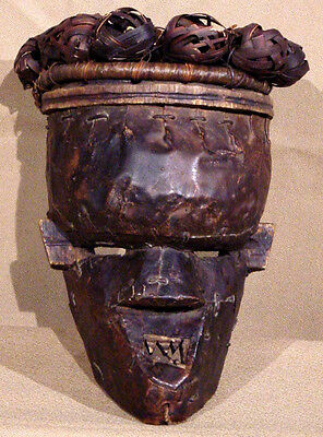Salampaso tribe African mask from the Congo