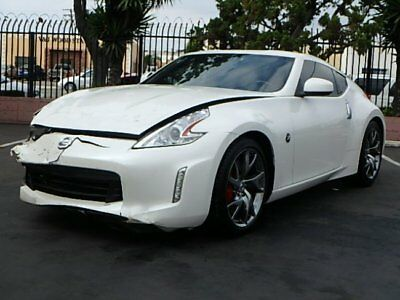 2014 Nissan 370Z Coupe 2014 Nissan 370Z Coupe Wrecked Repairable Nice Color Perfect Color Must See!!