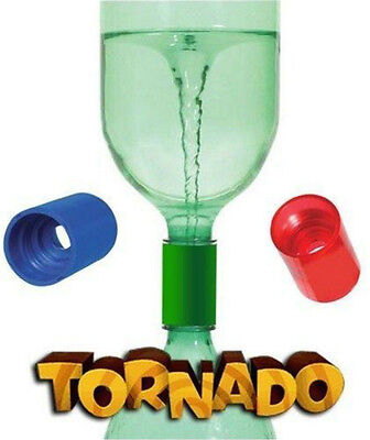 TORNADO TUBE Vortex cyclone 2liter bottle connector Homeschool Science sensory