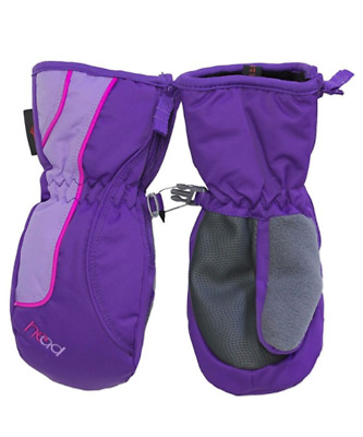New Head Girls' Ski Snow Winter Mittens Dupont Sorona Insulation - Xxs / Xs / S