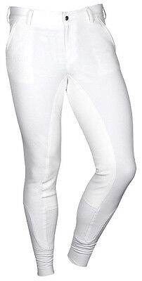 Clearance Sale! Harry's Horse Men's White Full Seat Breeches Rrp £79 Now £45