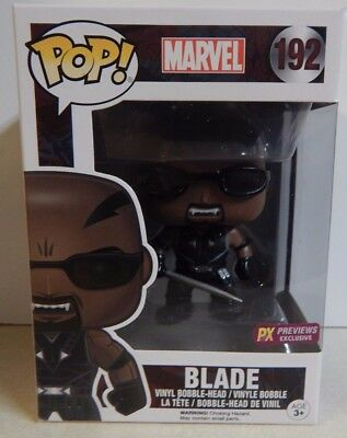 Funko POP! Marvel PX Preview Exclusive Blade #192 MIB!!!