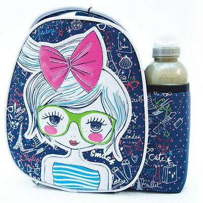 Official Licensed Product Smash Fashionista S2 Lunch Bag and Bottle Set Gift New