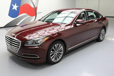 2016 Hyundai Genesis  2016 HYUNDAI GENESIS 3.8 SEDAN HEATED LEATHER NAV 34K #107559 Texas Direct Auto