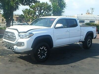 2016 Toyota Tacoma 4WD Double Cab 2016 Toyota Tacoma Double Cab 4WD V6 Wrecked Salvage Only 12K Mi Perfect Project