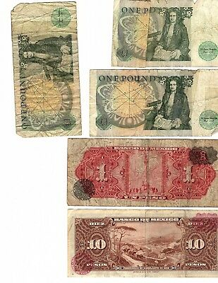 Foreign Paper Money, Most Over 25 years old