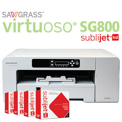 """***SAWGRASS SG800 Virtuoso Sublimation printer with 13"""" x 19"""" bypass tray***"""