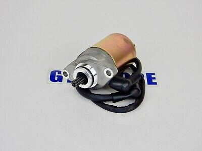 Starter Motor for 50cc 2-stroke Minarelli 1PE40QMB Jog engines. 9-SPLINES