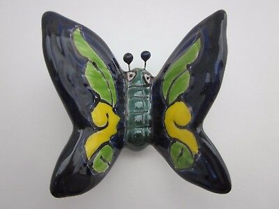 Beautiful Mexican Talavera Pottery BUTTERFLY